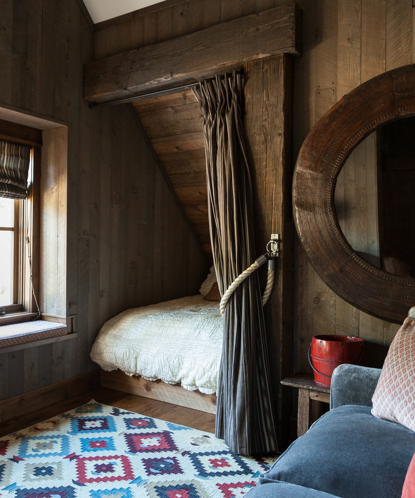 Kids Attic Rustic Bedroom