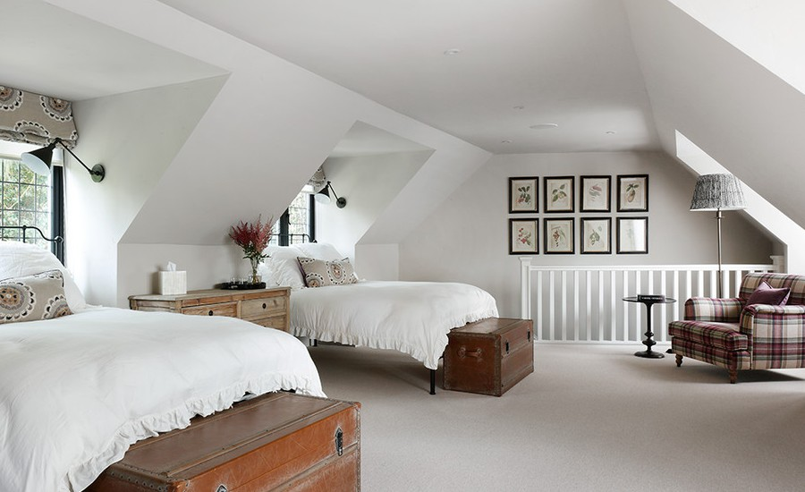 Kids Attic Traditional Bedroom