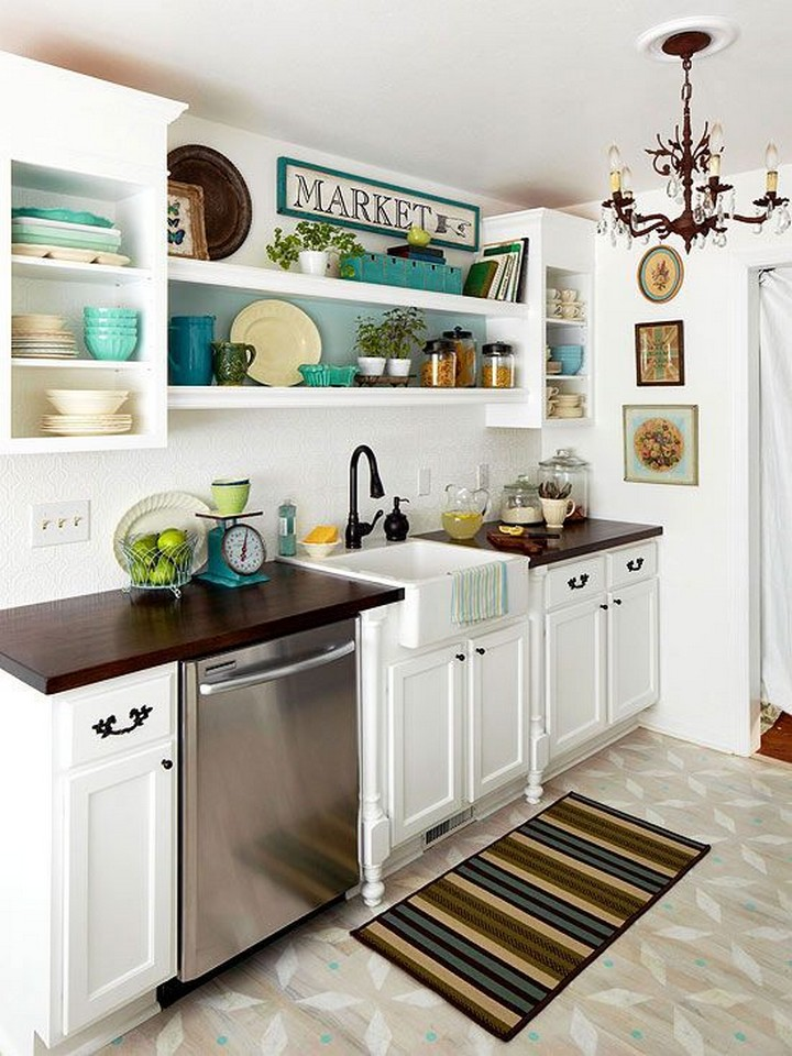Classic Small Kitchen With Modern Touch