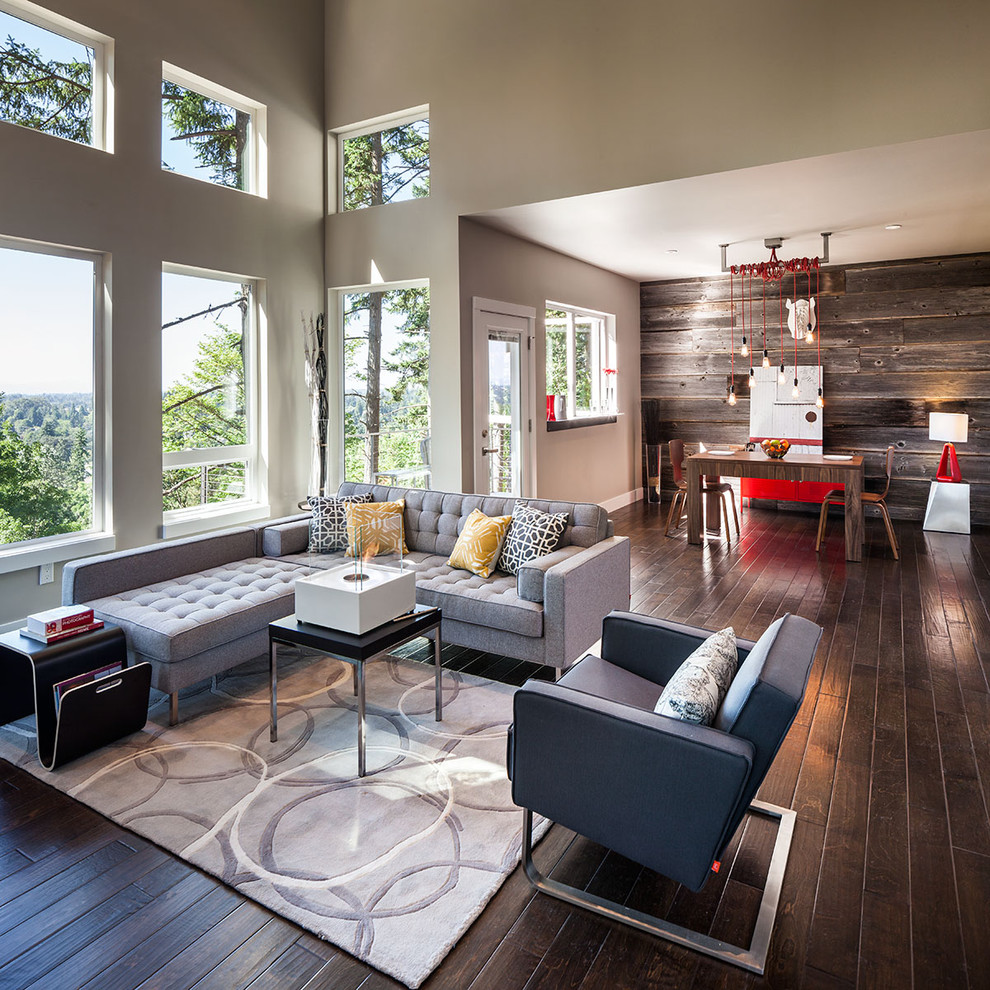 Large Contemporary Living Room