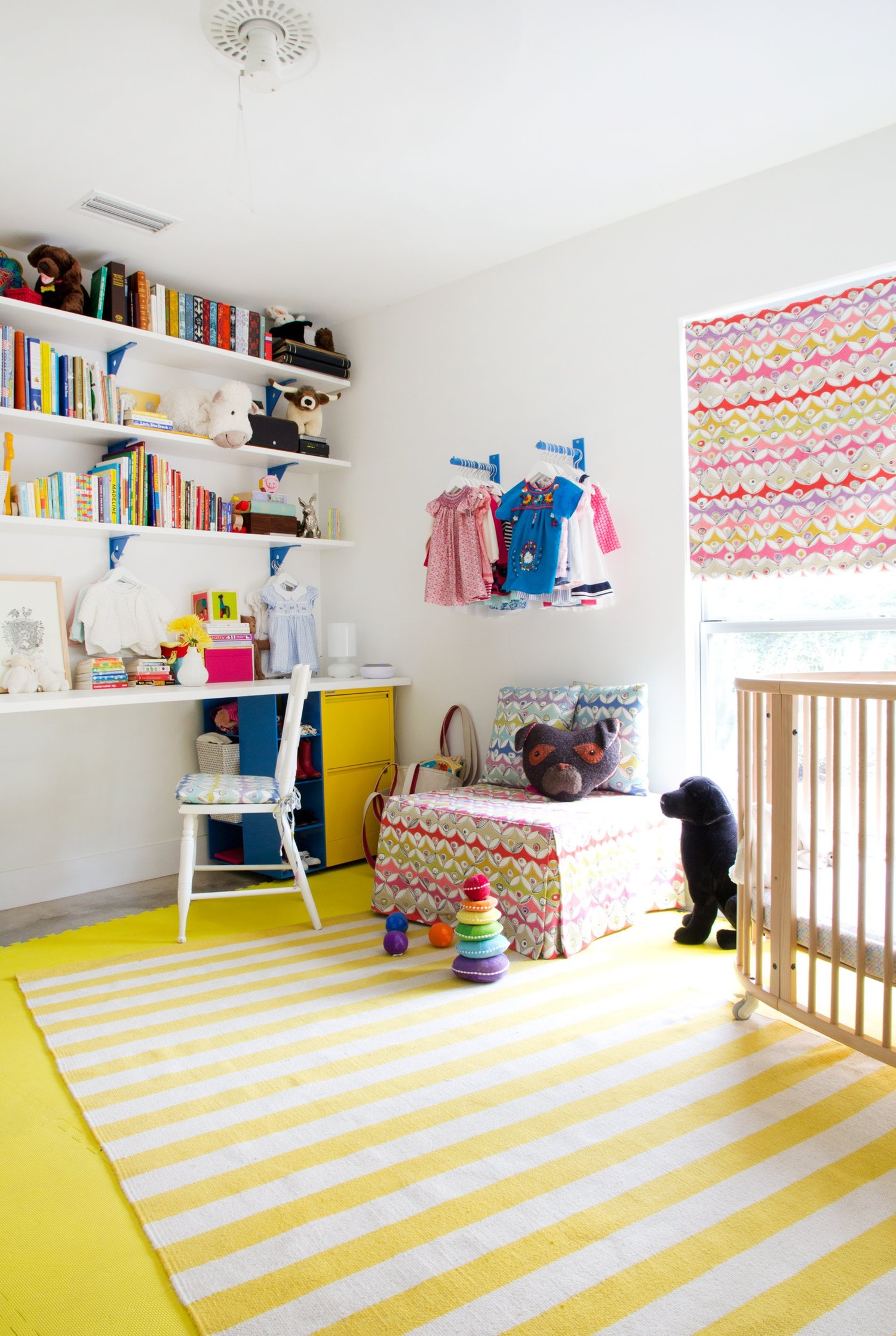 Cute And Practical Storage Solutions For kid's Room