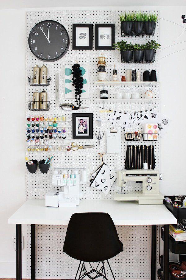 Smart and Stylish Storage Solutions for Your Craft Space