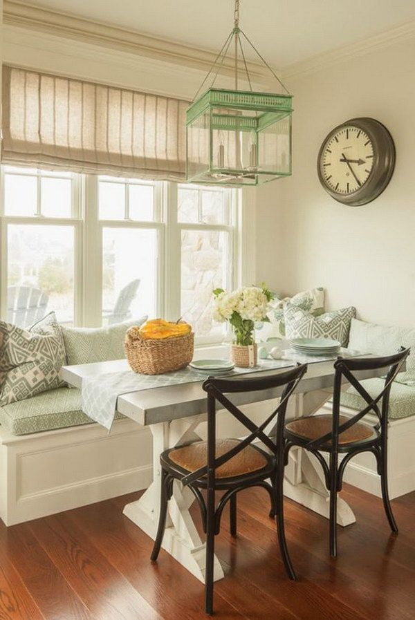 Breakfast Nook Ideas For Your Kitchen dwellingdecor (32)