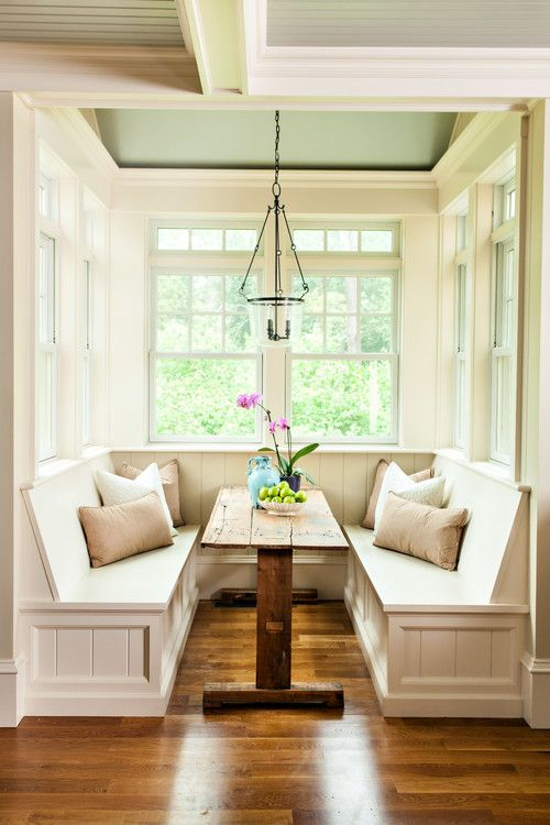 Breakfast Nook Ideas For Your Kitchen dwellingdecor (39)