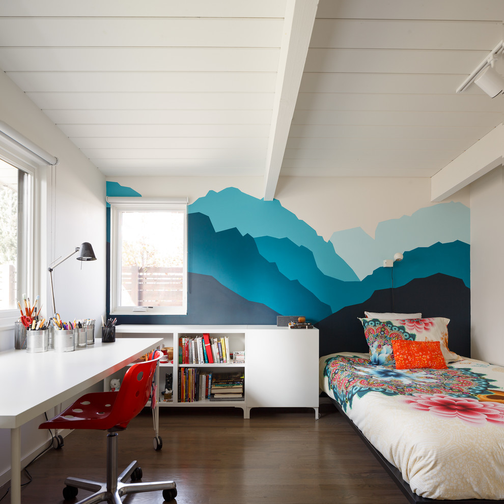 Midcentury Modern Teen Bedroom Design Dwellingdecor