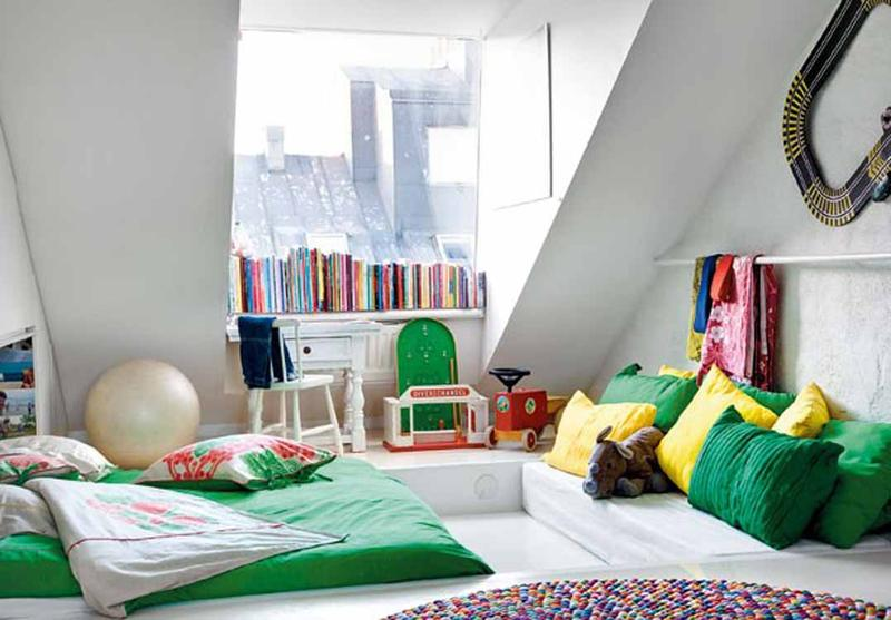 Scandinavian Contemporary Teen's Bedroom dwellingdecor