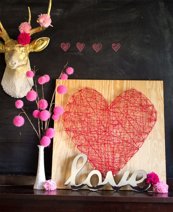 Unique Valentines Day Decorations Ideas (32)