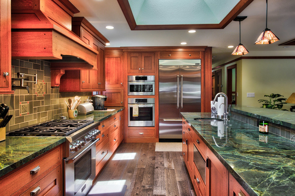 Craftsman U-shaped Kitchen