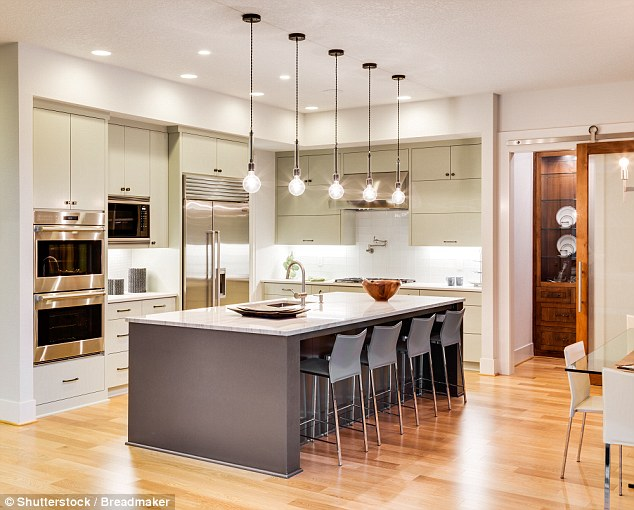 Luxurious Kitchen Island Dwellingdecor