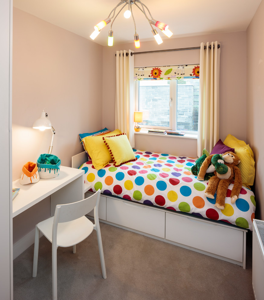 Contemporary Retro Inspired Kids Bedroom Dwellingdecor