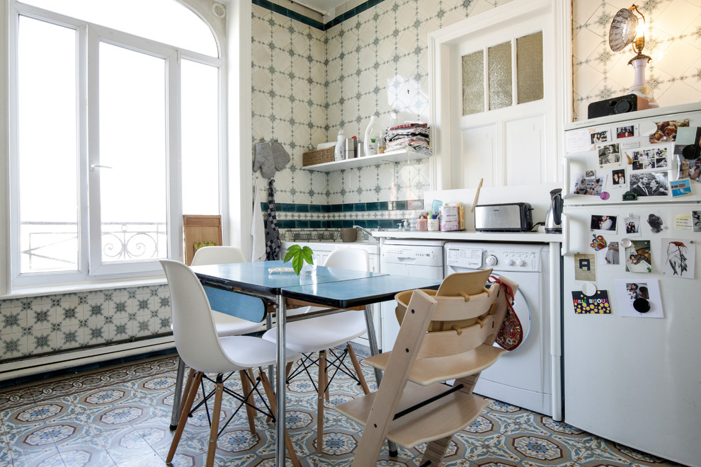 Eclectic Kitchen Design Dwellingdecor