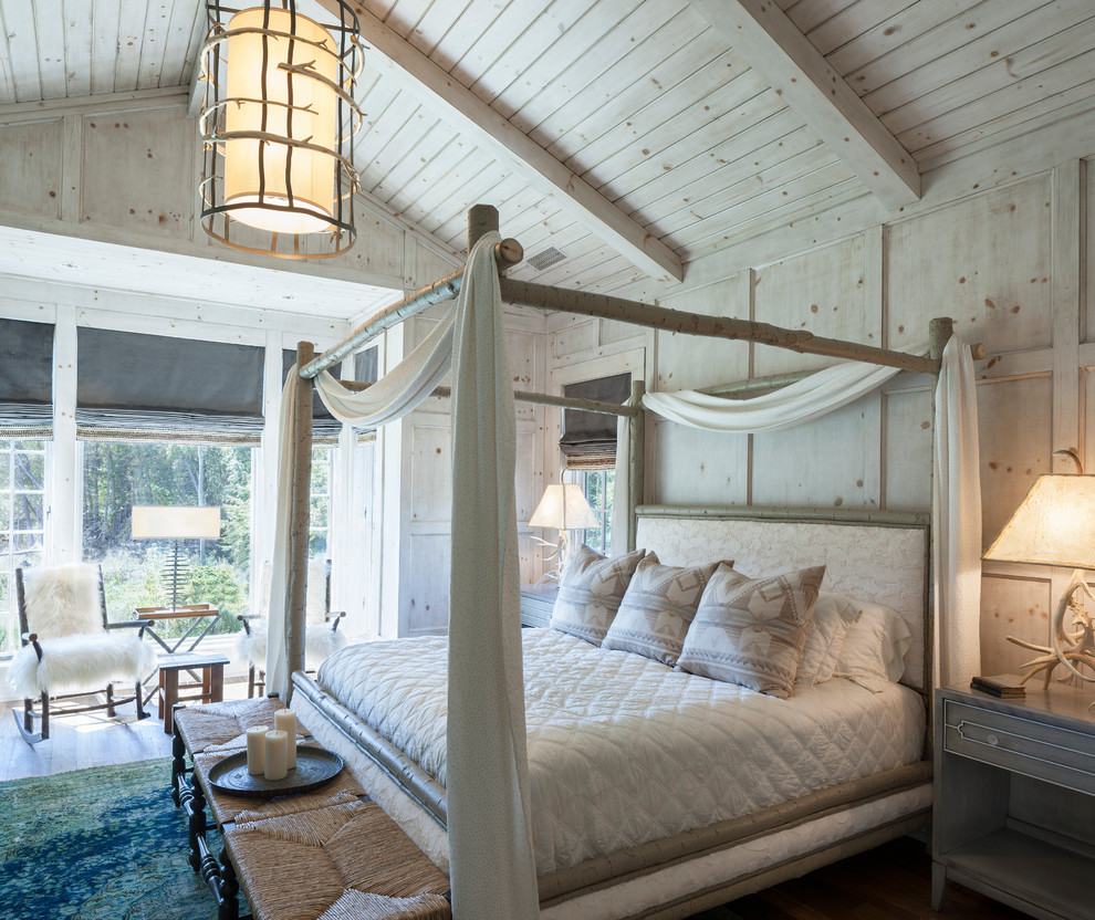 Huge Rustic Master Bedroom Dwellingdecor