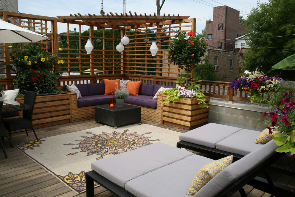Rooftop Living With Luxury Dwellingdecor
