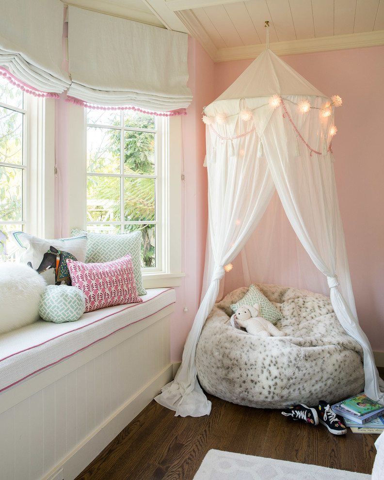 Traditional Kids Bedroom Window Seats Dwellingdecor