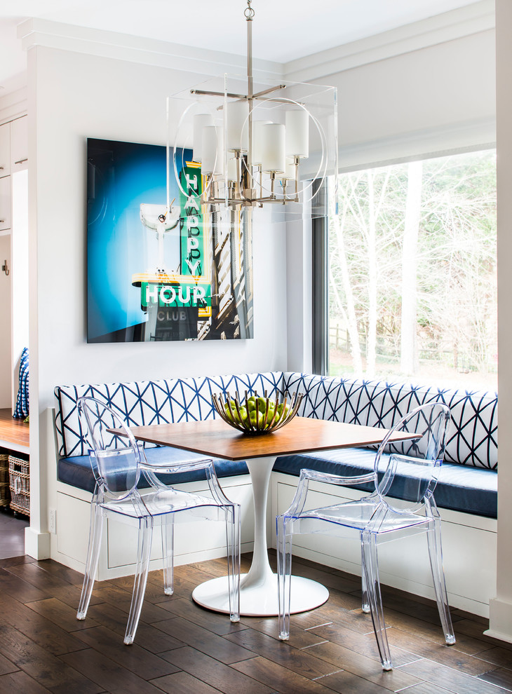 Transitional Breakfast Nook Dwellingdecor