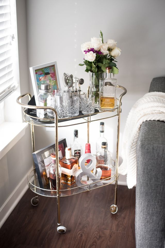 Bar Cart Designs Ideas (1)