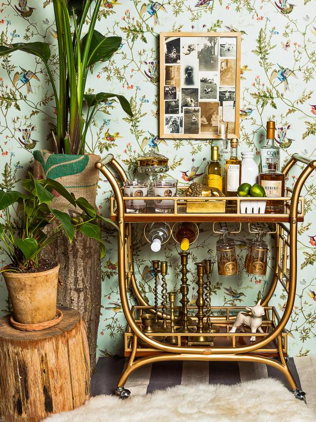 Bar Cart Designs Ideas (2)