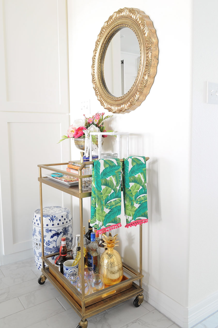 Bar Cart Designs Ideas (25)