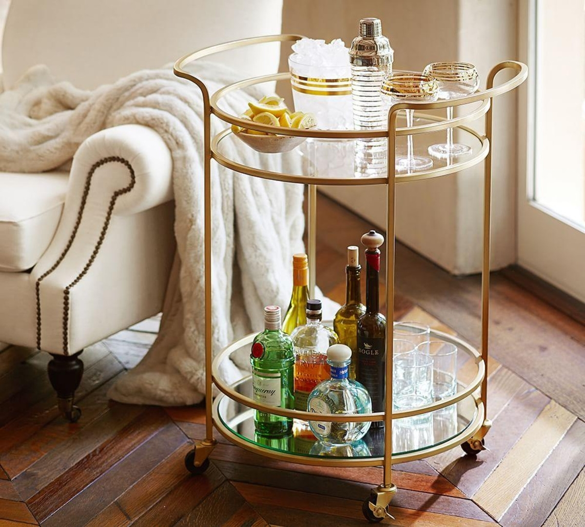 Bar Cart Designs Ideas (27)