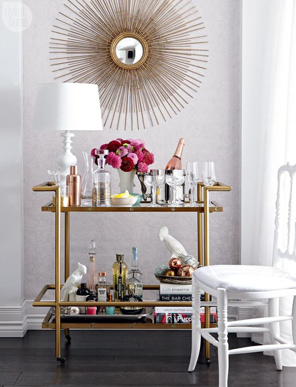 Bar Cart Designs Ideas (30)