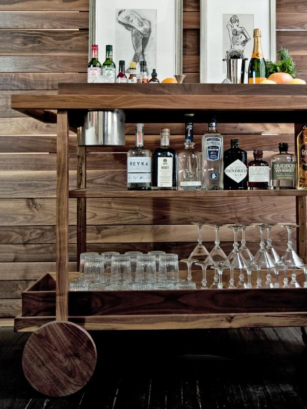 Bar Cart Designs Ideas (6)
