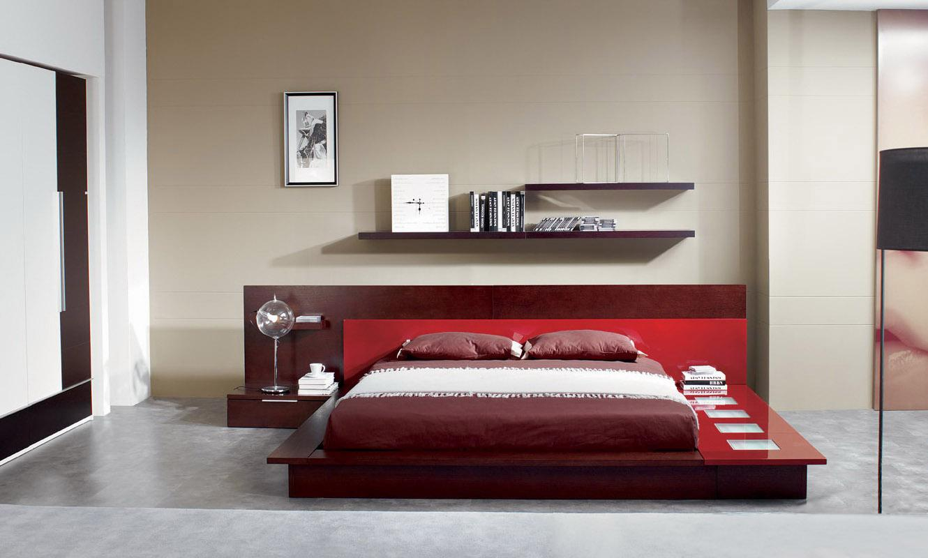 Contemporary Platform Bed (24)