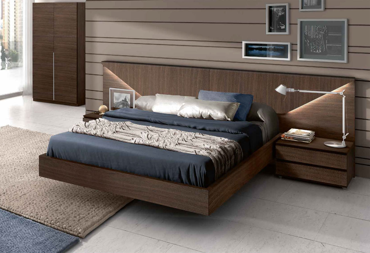 Contemporary Platform Bed (9)