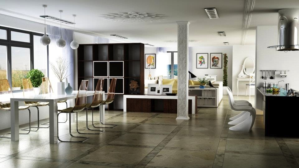 Open Plan Interior Design (2)
