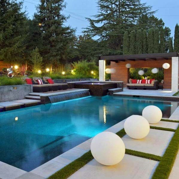 Pool Waterfall Ideas (15)