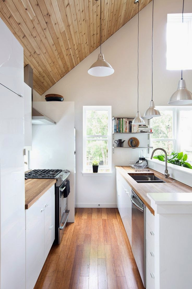 The layout of a small kitchen3