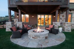 Why Firepit Tables Are 2021's #1 Garden Furniture Trend