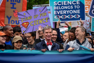 Marching scientists