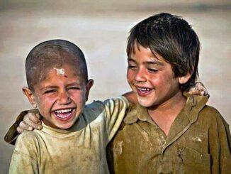 Poor Pleasure Spaces Smiling Kids