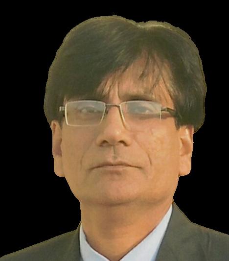 Dr Nasir Hussain, author