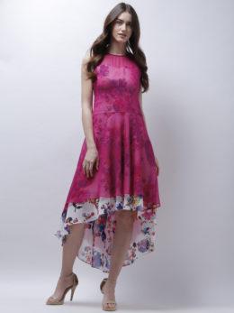 Flare Layered Dress