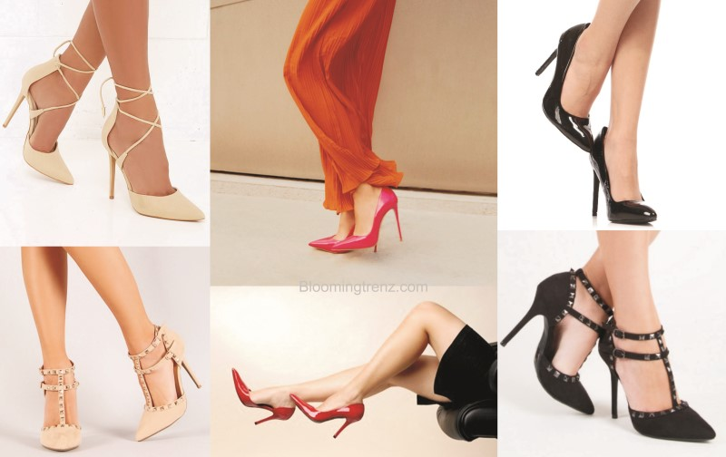 Peep Toe Pumps heels
