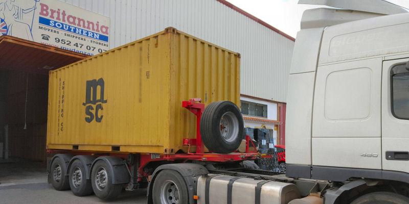 FCL Transporte en contenedores marítimos