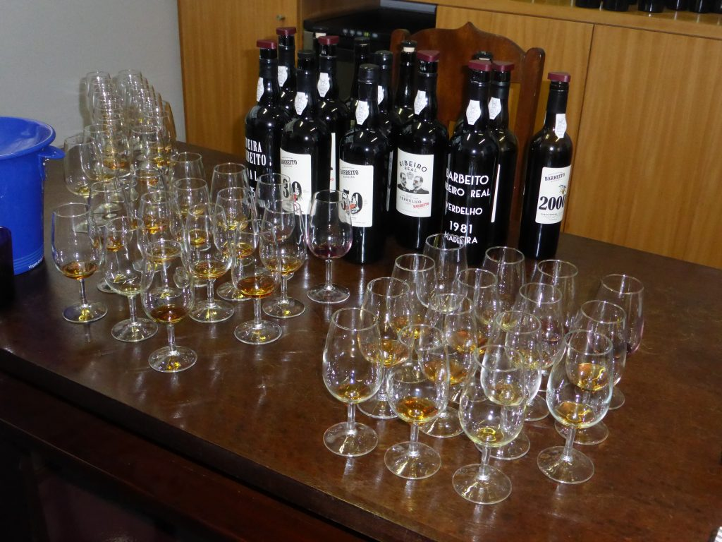 Madeira Wine Tasting - West of England Wine and Spirit Association