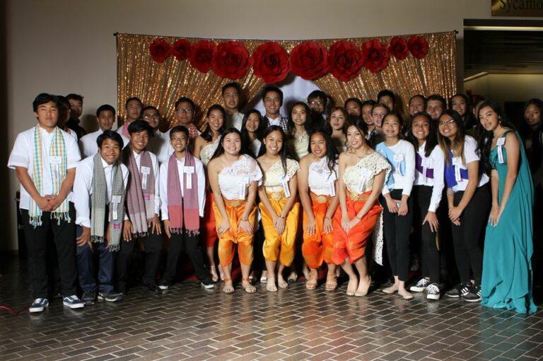 student gala volunteers