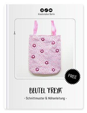 Beutel Freya - Schnittmuster & Nähanleitung