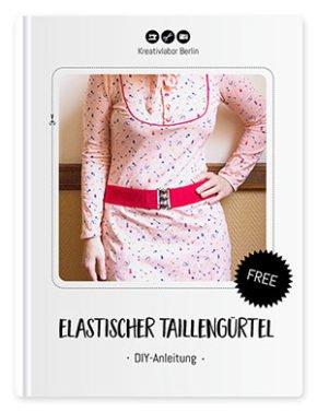 Kostenloses Schnittmuster eines elastischen Taillengürtels von Kreativlabor Berlin - Coverbild