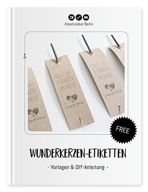 Beitragsbild für die Wunderkerzen-Etiketten von Kreativlabor Berlin