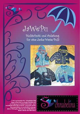 """Titelbild für das kostenlose Schnittmuster der Jacke """"JawePu"""" von Schnabelina - Jacke, Weste und Pullover nähen"""