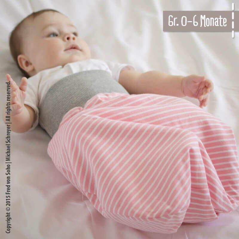 Strampelsack für Babys nähen