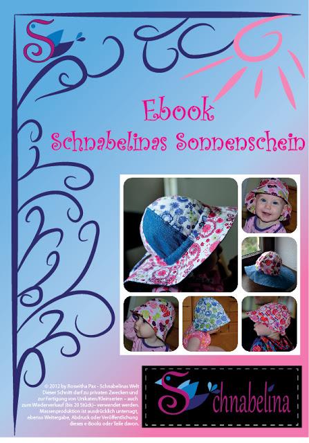 """Beitragsbild für das kostenlose Schnittmuster für den Hut """"Schnabelinas Sonnenschein"""" von Schnabelina."""