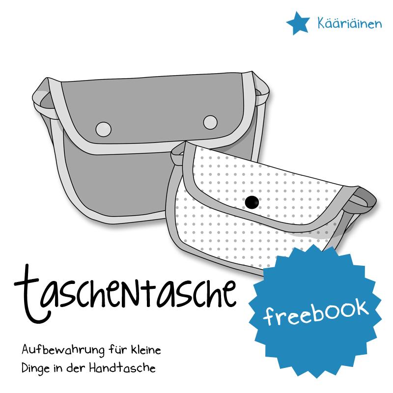 """Titelbild für das kostenlose Schnittmuster der Tasche """"taschentasche"""" von Näähglück"""