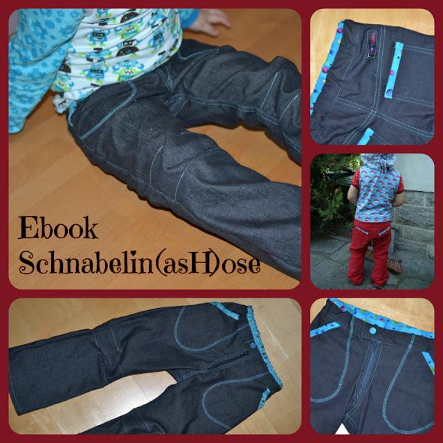 """Schaubild für das kostenlose Schnittmuster """"einfache Hose für Kinder"""" von Schnabelina"""