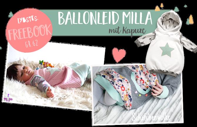 Ballonkleid für Babys nähen