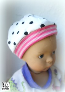 Kostenloses Schnittmuster Babymütze Minimüzz von Lila wie Liebe