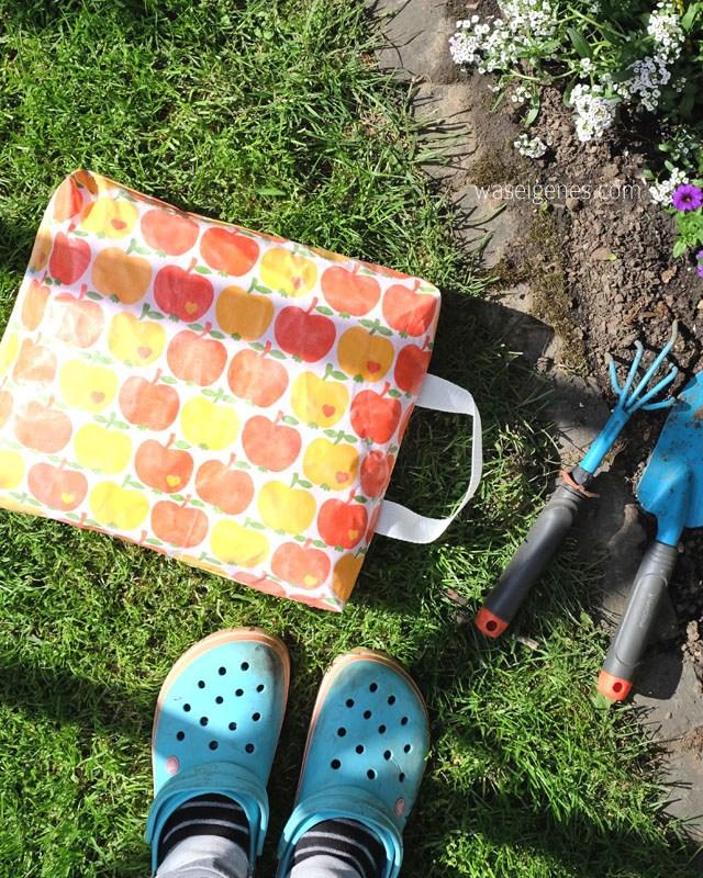 Kniekissen für die Gartenarbeit nach der Nähanleitung von Was eigenes.
